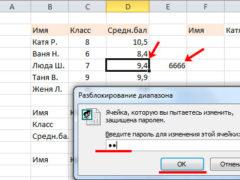 Защита ячеек в Excel от изменения, редактирования и ввода ошибочных данных