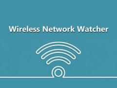 Скачать программу Wireless Network Watcher
