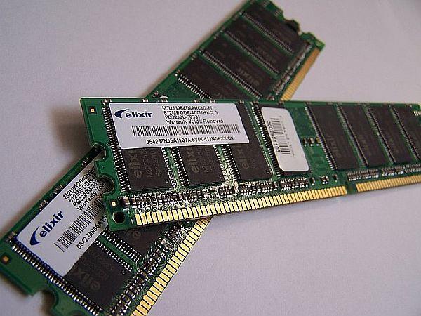 Планки оперативной памяти типа DDR