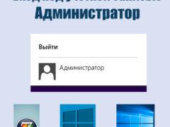 Как зайти в систему с правами администратора на ПК с Windows 7, 8, 10