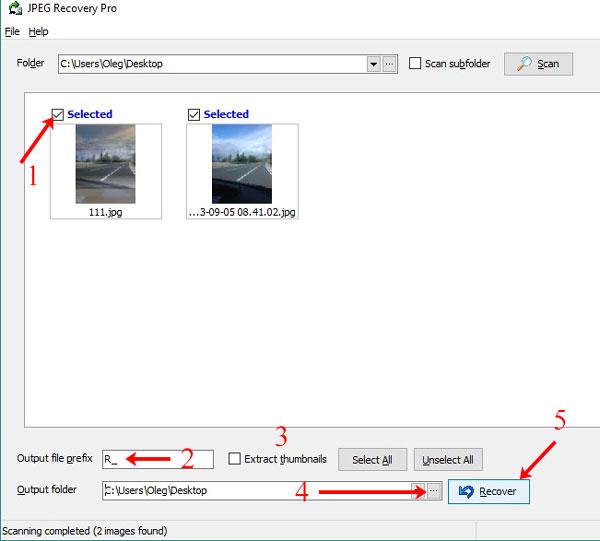 Сохранение изображений на ПК