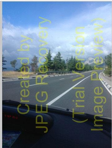 Восстановленная в JPEG Recovery фото
