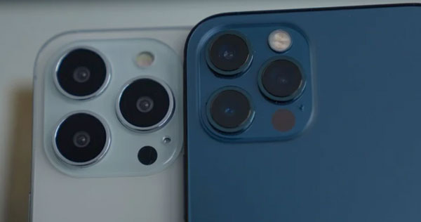 Камера в iPhone 13 Pro и iPhone 12 Pro