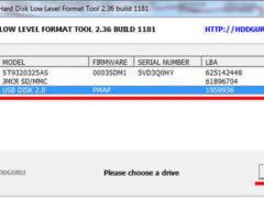 Hard disk low lewel format tool