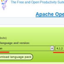 Бесплатный офис для Windows OpenOffice