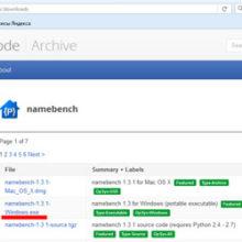 Программа Namebench