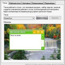 Видеоурок «Как установить тему для Windows»