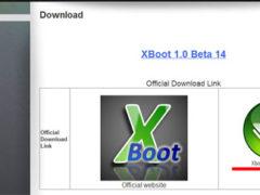 XBoot – программа для создания мультизагрузочной флешки или диска