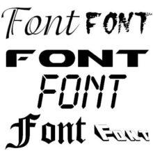 Набор из 179 разных шрифтов для Windows