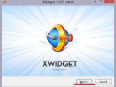Программа для виджетов на рабочий стол XWidget